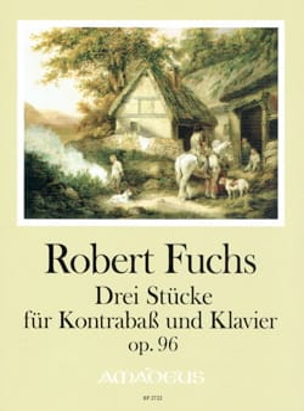 3 Pièces, op. 96 - Contrebasse et piano Robert Fuchs laflutedepan