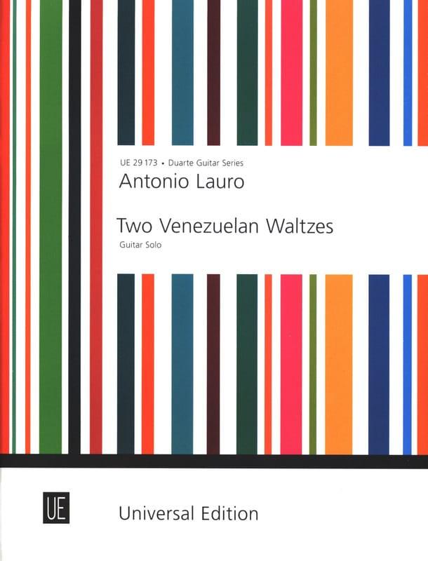 2 Venezuelan Waltzes -Guitar solo - Antonio Lauro - laflutedepan.com