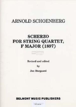 Scherzo for String quartet F major 1897 -Stimmen - laflutedepan.com