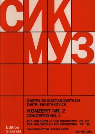 Concerto Violoncello n° 2 op. 126 - Partitur laflutedepan