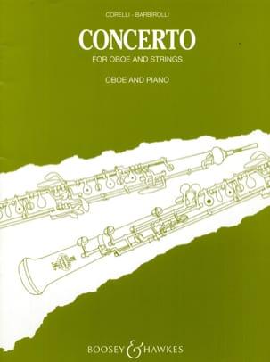 Concerto CORELLI Partition Hautbois - laflutedepan