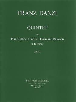 Quintet d minor op. 41 -Piano oboe clarinet cor et basson laflutedepan