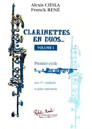 Clarinettes en duos ... - Volume 1 laflutedepan