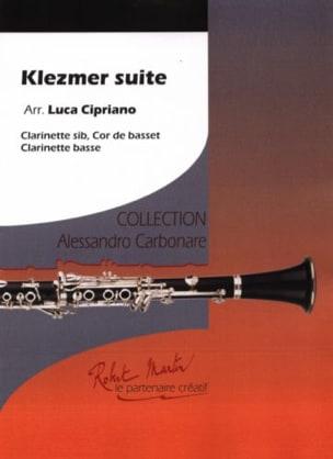 Klezmer Suite - 3 Clarinettes Partition Clarinette - laflutedepan