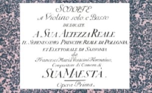 Sonate a violino, o flauto solo, e basso - laflutedepan.com