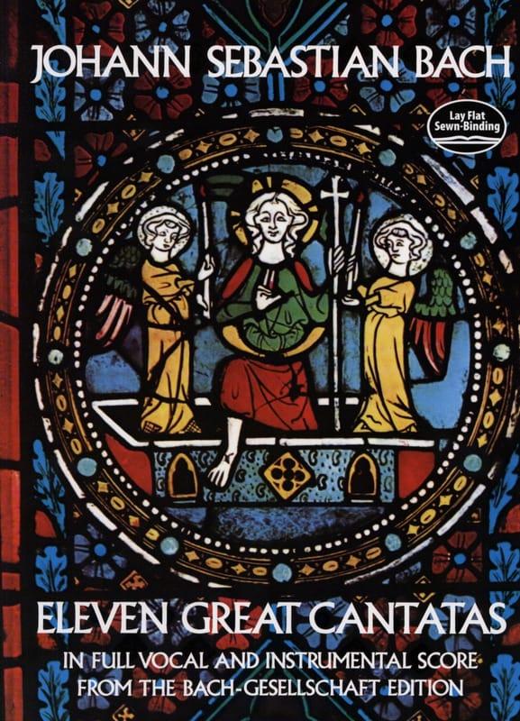 Eleven Great Cantatas - Conducteur - BACH - laflutedepan.com