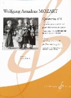 Quartetto n° 4 en ré majeur KV 311 -Flûte et trio à cordes - laflutedepan.com