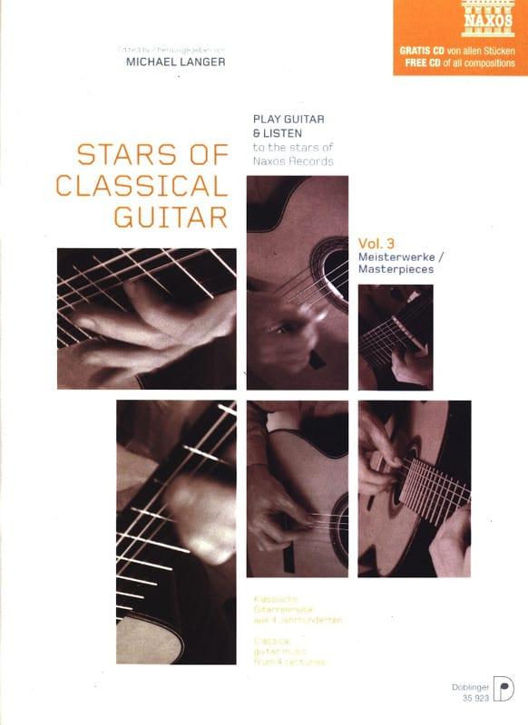 Stars Of Classical Guitar Volume 3 - Michael Langer - laflutedepan.com