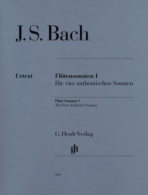 Sonates pour flûte, volume 1 BACH Partition laflutedepan