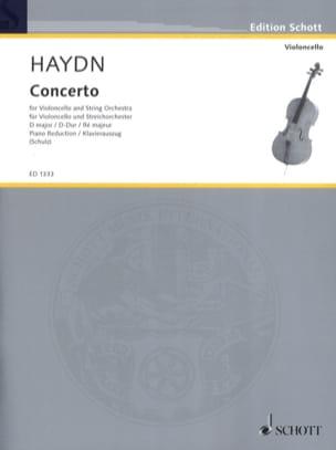 Violoncello-Konzert D-Dur Hob. 7b : 4 HAYDN Partition laflutedepan
