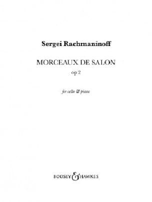 Prélude et Danse orientale Opus 2 RACHMANINOV Partition laflutedepan