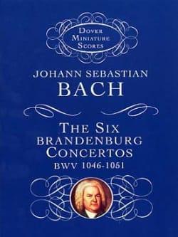 6 Brandenburg Concertos BWV 1046-1051 BACH Partition laflutedepan