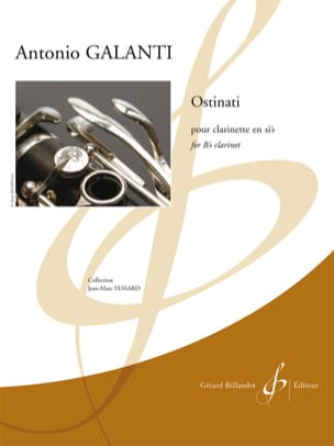 Ostinati Antonio Galanti Partition Clarinette - laflutedepan