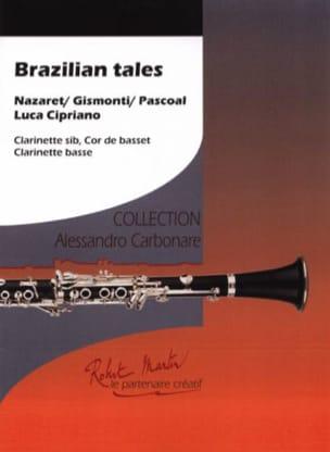 Brazilian Tales - 3 Clarinettes Partition Clarinette - laflutedepan