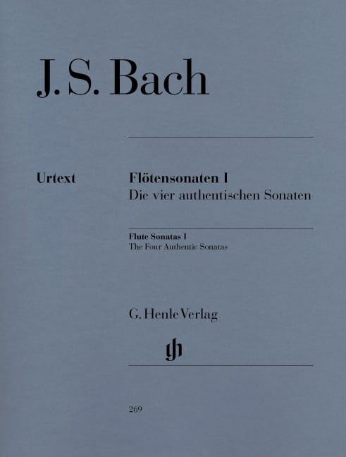 Sonates pour flûte, volume 1 - BACH - Partition - laflutedepan.com