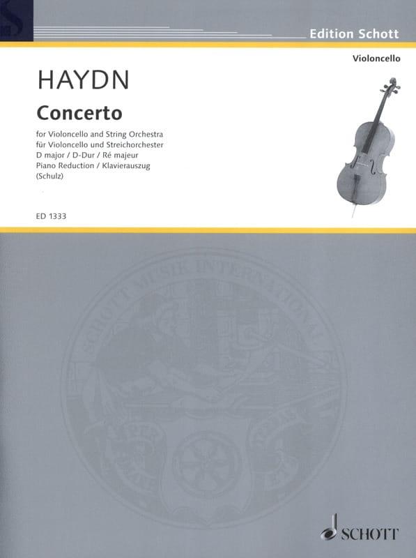 Violoncello-Konzert D-Dur Hob. 7b : 4 - HAYDN - laflutedepan.com
