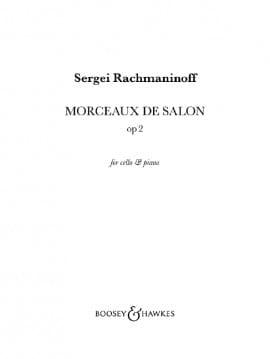 Prélude et Danse orientale Opus 2 - RACHMANINOV - laflutedepan.com