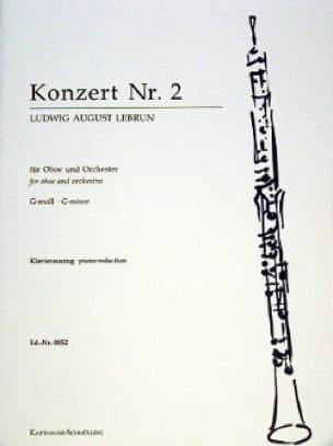Concerto pour Hautbois N° 2 - Ludwig August Lebrun - laflutedepan.com