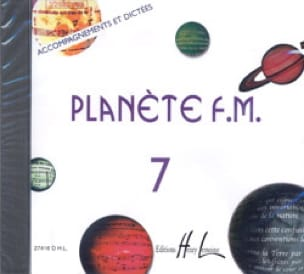 CD - Planète FM Volume 7 - Accompagnements/Dictées - laflutedepan.com