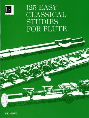 Frans Vester - 125 estudios fáciles para la flauta - Partition - di-arezzo.es