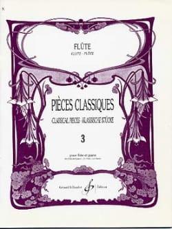 Pieces classiques - Volume 3 - Flûte et piano laflutedepan