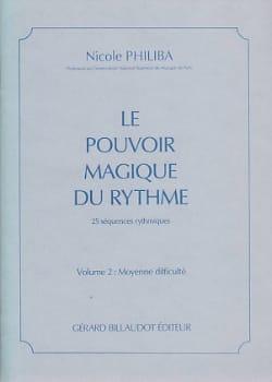 Le Pouvoir Magique du Rythme Volume 3 Nicole Philiba laflutedepan