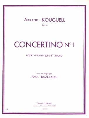 Concertino n° 1 op. 44 Arkadie Kouguell Partition laflutedepan