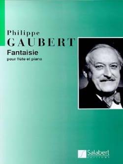 Philippe Gaubert - Fantasy - Flute and Piano - Partition - di-arezzo.co.uk