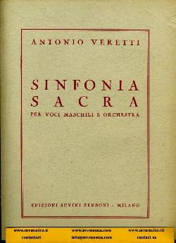 Sinfonia sacra - Antonio Veretti - Partition - laflutedepan.com