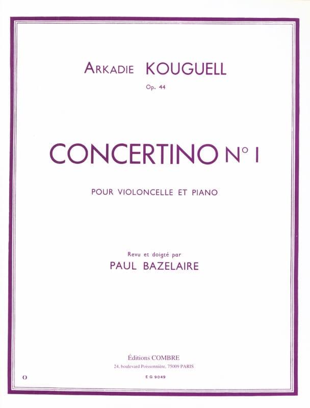 Concertino n° 1 op. 44 - Arkadie Kouguell - laflutedepan.com