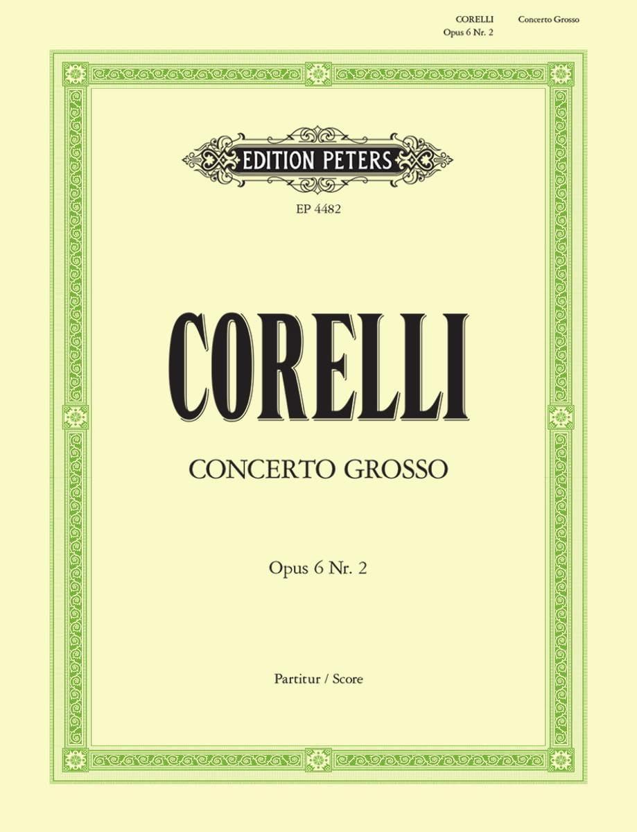 Concerto Grosso op. 6 n° 2 Fa Majeur - CORELLI - laflutedepan.com