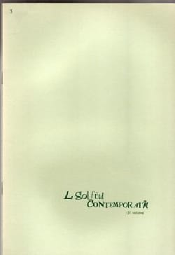 Le Solfège Contemporain Volume 3 - Elève Albert Beaucamp laflutedepan