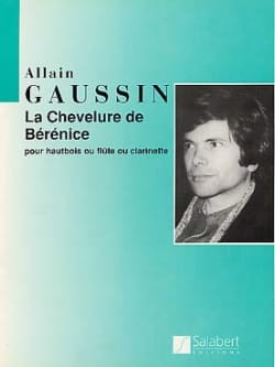 La chevelure de Bérenice Alain Gaussin Partition laflutedepan
