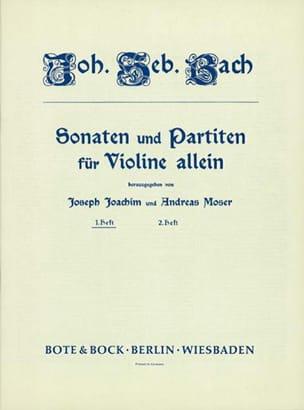 6 Sonaten und Partiten Heft 1 - BACH - Partition - laflutedepan.com