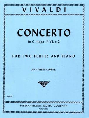 Concerto In C Major Rv 533 -2 Flutes Piano VIVALDI laflutedepan