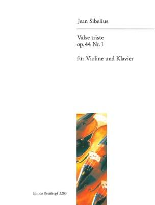 Valse triste op. 44 n° 1 - Violon SIBELIUS Partition laflutedepan