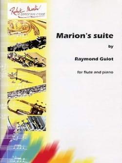 Marion's suite Raymond Guiot Partition laflutedepan