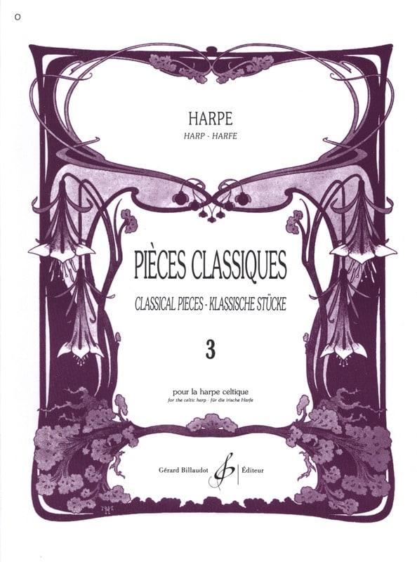 Pièces classiques Volume 3 -Harpe - Partition - laflutedepan.com
