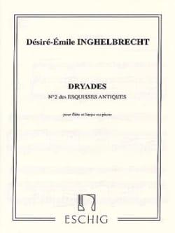 Dryades Esquisse antique n° 2 D. E. Inghelbrecht laflutedepan