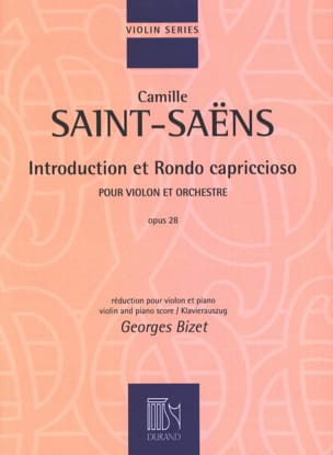 Camille Saint-Saëns - Introduction and Rondo Capriccioso Op.28 - Partition - di-arezzo.com