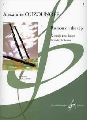 Bassoon On The Top Volume 2 Alexandre Ouzounoff Partition laflutedepan