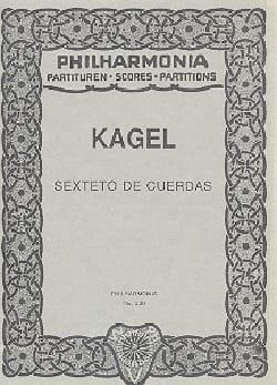 Sexteto de Cuerdas - Partitur Mauricio Kagel Partition laflutedepan