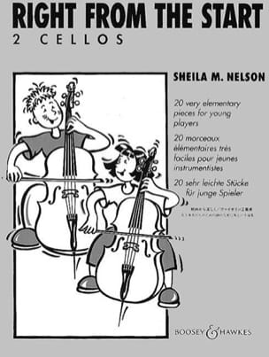 Right from the Start - 2 Cellos Sheila M. Nelson laflutedepan