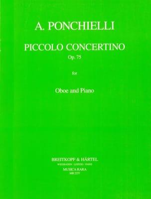 Piccolo concertino Op. 75 -Oboe piano laflutedepan