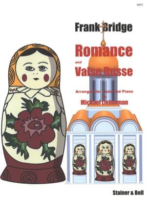 Romance et Valse Russe Frank Bridge Partition Alto - laflutedepan