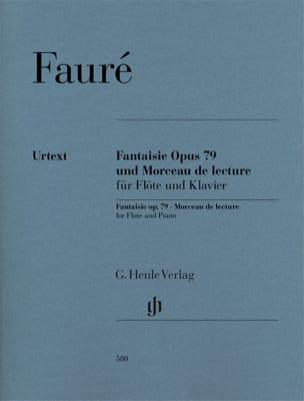 Fantaisie opus 79 et Morceau de lecture pour Flûte et piano laflutedepan
