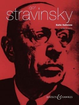 Suite Italienne - Alto et Piano - STRAVINSKY - laflutedepan.com