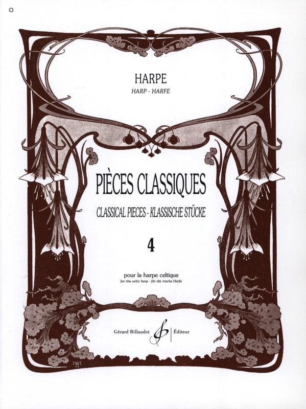 Pièces Classiques Volume 4 - Harpe - Partition - laflutedepan.com