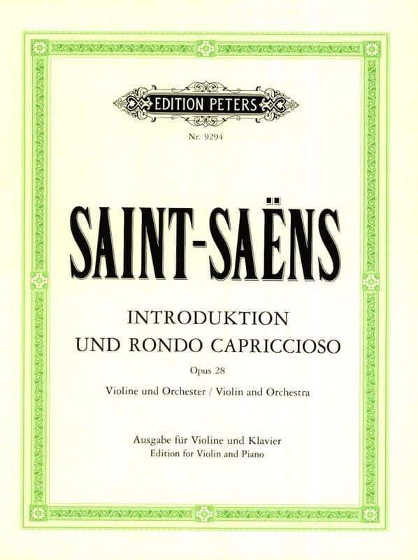 Introduction et Rondo Capriccioso op. 28 - laflutedepan.com