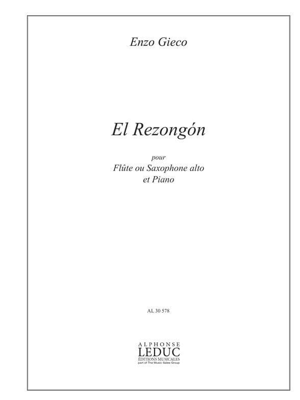 El Rezongon - Enzo Gieco - Partition - laflutedepan.com